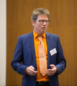 Prof. Dr. Hans-Ulrich Prokosch, Leiter des Lehrstuhls für medizinische Informatik an der Friedrich-Alexander Universität Erlangen-Nürnberg